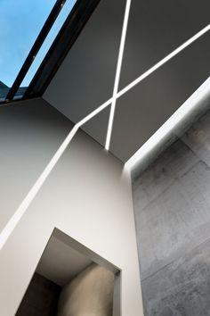 kaltweißes Licht passt zu Betonwände - Modell Nolita Eco
