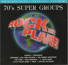 70's Super Groups by Various Artists (CD,1996, Warner Special Products)  #HardRock