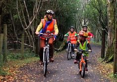 Biking on the Greenway in County Mayo Ireland.  Get some exercise while on vacation and rent bikes to explore the beautiful countryside! County Mayo Ireland, Off Road Cycling, Family Fitness, Great Western, Ireland Travel, Family Travel, Westerns, Health Fitness, Bike