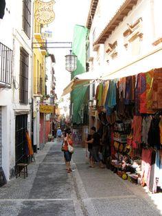 Granada calle de las teterias