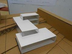 Maquette Architecture, Architecture Design, Conceptual Architecture, Architectural Design House Plans, Arch Model, Geometric Art, Design Process, House Design, University University