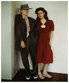 Andy Warhol and Paloma Picasso    Photo by Jean Paul Goude