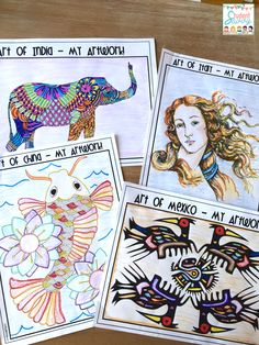 Art Around the World Activities!