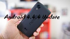 Google released a new Android OS update, Android 4.4.4 | Techno Trigger