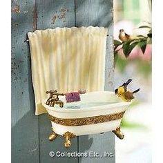Bird bath tub bath!
