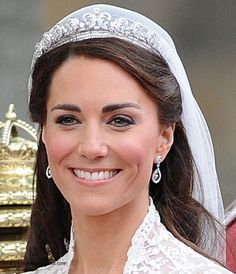 The Cartier Halo Tiara was made by Cartier in 1936 and purchased by the Duke of York (later King George VI) for the Duchess of York (later the Queen Mother). It is a striking piece composed of stylised petals, paved with 739 brilliant-cut diamonds and 149 baguette-cut diamonds. The name derives from its halo shape.