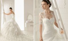 Aire Barcelona 2013 Bridal Dress Collection