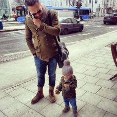 Así será mi hijo father and Son Style fashion. Men tumblr beanie love this Shoes jeans KID kids