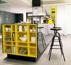 Kevesen kedvelik az erős színeket a konyhabába. Pedig ez a fekete-sárga…