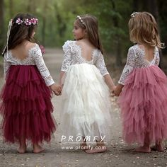 Little Girl Elegant Princess Dress Baby Children's Clothing Tutu Kids Dresses for Girls Clothes Wedding Party Gown Vestidos, Ropa de niña, Cute Flower Girl Dresses, Tulle Flower Girl, Girls Lace Dress, Tulle Flowers, Wedding Dresses For Girls, Lovely Dresses, Tulle Dress, Girls Dresses, Pink Tulle