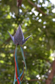 Grullas de Origami - Adornos - Casa - 514732