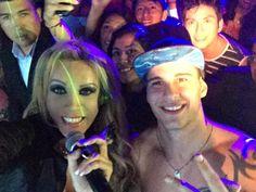 ¡El Dios Argentino Benjamín Lukovski en un evento en la discoteca 80 divas! #EEG #EstoesGuerra