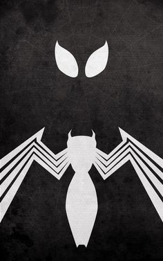Superhero Minimalist Posters - Spiderman - Black Costume by Calvin Lin a.k.a. thelincdesign