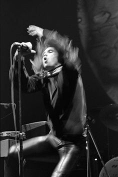 Jim Morrison at the newly-opened Fillmore East, March 28 1968, by David Sygall