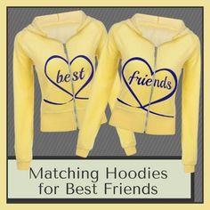 365 Printing Mermaid to Be Besties Cute BFF Pullover Hoodies Matching Gift