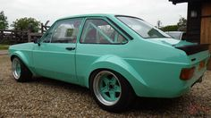 FORD ESCORT MK2 1980 RALLY CAR RACE CAR ROAD CAR