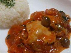 簡単♪柔らか~な鶏むね肉のトマト煮込み☆の画像