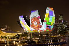 light projection mapping art installations - Google Search