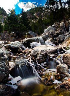 Silver Falls near Red Lodge, MT