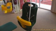 Gorilla Playsets Baby Swing Review from Arizona Playsets