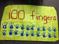 Hodge and Her Kindergarten Kids: Getting ready for the day! (And a giveaway! 100th Day Of School Crafts, 100 Day Of School Project, School Projects, 100th Day Project Ideas, Project 100, Preschool Classroom, In Kindergarten, Classroom Ideas, Preschool Ideas