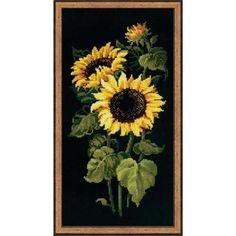 RIOLIS® Sunflowers Counted Cross-Stitch Kit