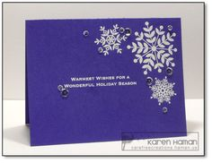 Carefree Creations | Warmest Wishes | http://carefreecreations.haman.us