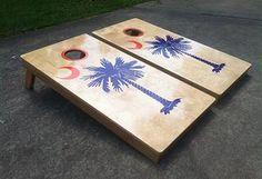Clemson cornhole boards
