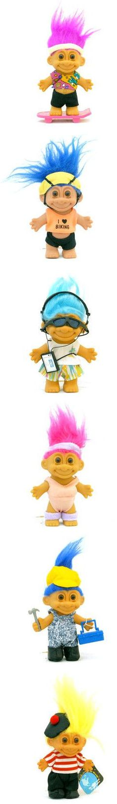 Theresa, remember you use to collect these.... Troll Dolls ARE BACK!! lol Memories from my Childhood! #80's