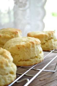 The View from Great Island | Down Home Sweet Potato Biscuits with Country Gravy