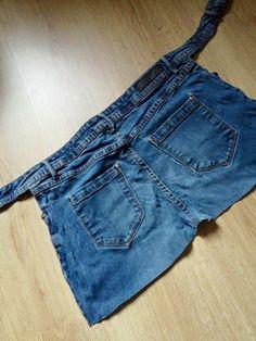 #tuinschort gemaakt van oude #jeans (4) De vlijtige huisvrouw