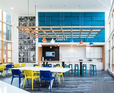 Trends in Office Fit Out, Atrium and Canteen