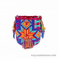 Mochila Wayuu or Wayuu Bag ~wybag-289