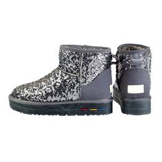 Optimal Women's Classic Winter Short Sparkles Snow Boot -- You can find out more details at the link of the image.