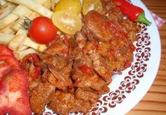 Masovo-papriková směs Beef, Chicken, Food, Red Peppers, Meat, Hoods, Meals, Ox, Ground Beef