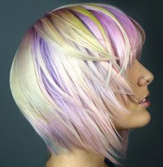 Paul Mitchell Pastels. Love the color and the cut!