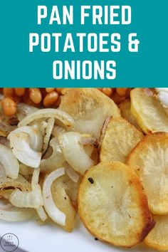 This easy recipe shows you how to make some delicious pan-fried potatoes and onions. Wonderful with a full English breakfast fry-up. Pan fried potatoes and onions, pan fried potatoes and onions dinners, pan fried potatoes and onions breakfast, pan fried potatoes and onions recipes, fried potatoes, fried potatoes and onions, fried potatoes skillet, fried potatoes and onions skillet, fried potatoes and onions southern, fried potatoes and sausage, fried potatoes recipe Side Dishes Easy, Side Dish Recipes, Easy Dinner Recipes, Easy Recipes, Dinner Ideas, Easy Meals For Kids, Easy Snacks, Quick Easy Meals, Vegan Recipes