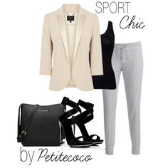 """Sporty Chic Style"" by petitecoco20 on Polyvore"