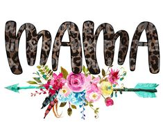 Mama Floral Leopard Mom Sublimation Transfer, Heat Transfer, Ready To Press Sublimation Heat Transfer, DIY Shirt Sublimation Mode Poster, Design Digital, Sublime Shirt, Cricut Creations, Baby Kind, Silhouette Projects, Silhouette Cameo, Vinyl Designs, Shirt Designs