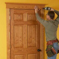 craftsman wood trim