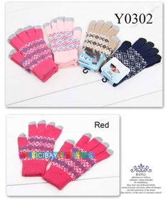 Aliexpress.com : Buy Capacitive Touch Gloves Ladies Pretty Jacquard Design Capacitive Gloves for Iphone,Free Shipping Y0302 from Reliable Capacitive Gloves suppliers on SICIBAY - Kids' Clothing:Selling for Donating,$7.9