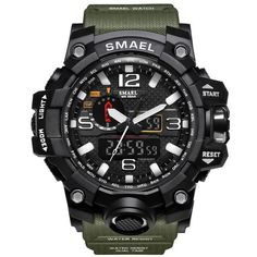 Quality SMAEL Brand Camouflage Fashion Digital Watch Men Sport Analog Quartz-Watch Swim LED Electronic Watches Mens Relogio Masculino with free worldwide shipping on AliExpress Mobile G Shock, S Shock Watch, Led Watch, Smartwatch, Big Watches, Watches For Men, Wrist Watches, Casual Watches, Analog Watches