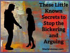 A post about ending arguments.
