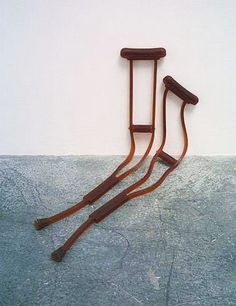 Mona Hatoum - Untitled (Crutches)