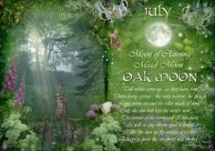July : Oak Moon - The Wheel of the Year (January)