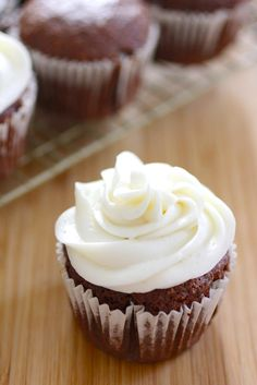Gluten Free Vegan Chocolate Spice Cupcakes