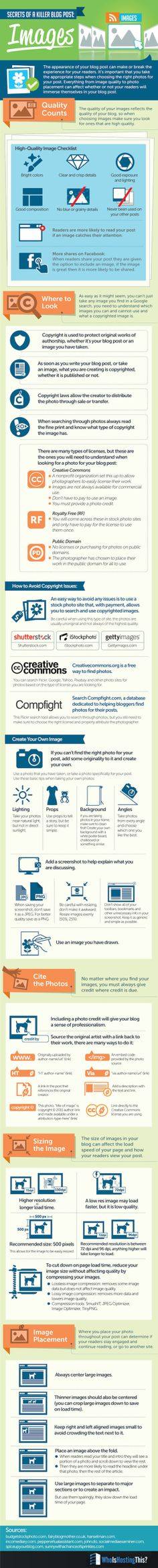Images Are the Ultimate Secret of Killer Blog Posts #INFOGRAPHIC