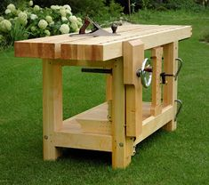 Wooden Workbenches For Sale   Roubo Bench--For Sale