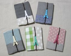 Japanese still love to use notebook size calandra ...so handmade fabric case is very popular