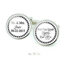 Just make these Lived Happily Ever After cufflinks.  Link in bio: jewelrylized #customcufflinks #handmadecufflinks #wedding #cufflinks #weddingcufflinks #happycufflinks #handmademenjewelry #cufflinks #mrandmrs #personalizedcufflinks #handmadewithlove #jewelrylized #mencufflinks #groomcufflinks #weddinggowns #menfashion #cufflinksformen #menaccessories #giftforhim #menstyle #menstagram #fashionista #gentleman